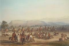Piegan-camp-near-Fort-Mckensie-1833-Karl-Bodmer-752-511