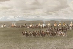 View-from-the-circle-camp-showing-seven-lines-of-the-tribal-parade-McClintock-800-443
