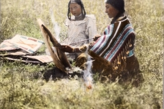 Woman-and-girl-seated-on-the-grass-McClintock-797-662